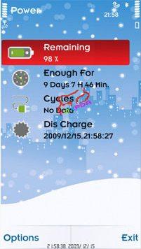 مدیریت میزان مصرف باتری با Battery Life v1.00 در گوشی های نوکیا s60v5&v3